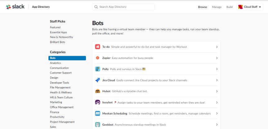 bots-slack-list